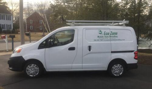 Eco Zone Mobile Auto Detailing van